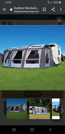 Outdoor revolution esprit 420 pro air awning