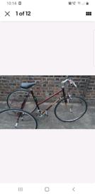 George longstaff racing tricycle