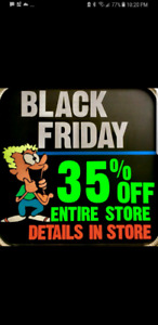 35% OFF STORE WIDE