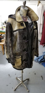 *** Men's SEAL SKIN JACKET *** Manteau Homme * VERY RARE