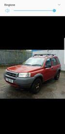 2001 Landrover Freelander 1.8 petrol