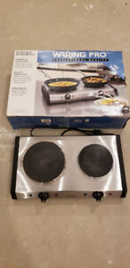 Waring Pro Double Burner Hot Plate