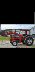 LOOKING FOR A MASSEY FERGUSON MF 236 LOADER