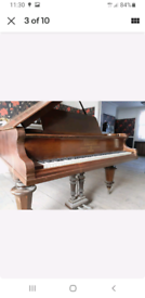 BECHSTEIN GRAND PIANO Circa:1893