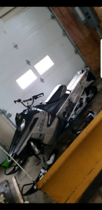 2011 Polaris assault 800 with 144 track