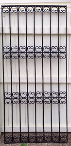 Antique Egyptian Iron Gate from 1800's