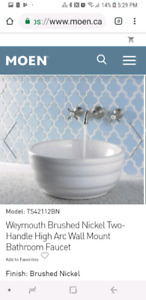 New in Box Moen Bath Faucet