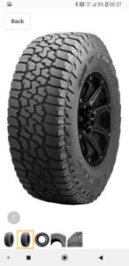 275/60/20 Falken Wildpeak AT3 tires for sale.  Snow certified