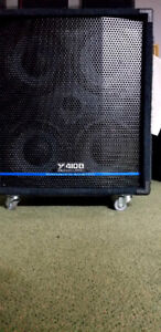 Yorkville 410B  bass cabinet Vety good condition. $190.00.