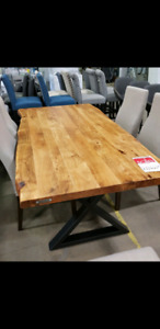 REDUCED!! Brand New Live Edge Dining Table
