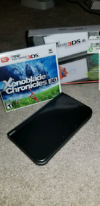 "The ""new"" 3ds XL with Xenoblade"