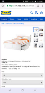 Full/double Brimnes bedframe and headboard