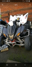 2009 Apache 450 RLX quad bike breaking spares only 400 320 sinnus Hyos for sale  Southwark, London