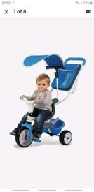 SmobyBaby Balade Trike - Blue