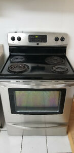 ELECTRIC STOVE -STAINLESS STEEL - FULL SIZE
