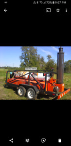Ground Frost removal machine