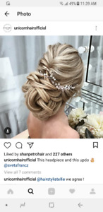 Hair Model Needed for Wedding Updos / Downdos