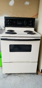 Kenmore Electric Stove and Refrigerator