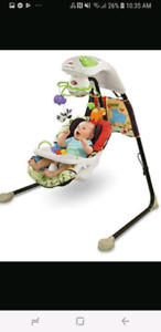 Baby swing fisher price electric