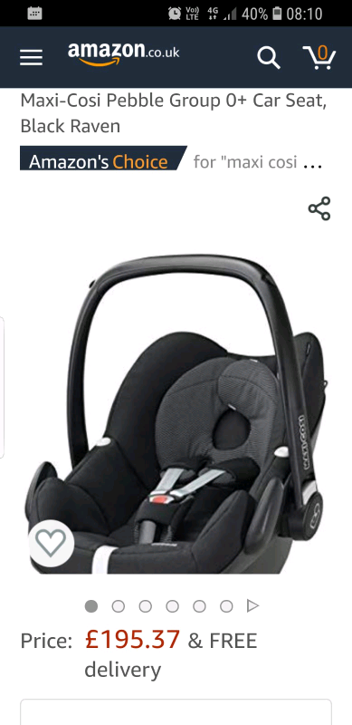 e5ccd23ea967 maxi cosi pebble carseat | in Caerphilly | Gumtree