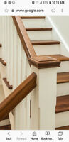 Staircase and flooring