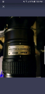Nikon 70-200 VR. Can trade , peu echanger