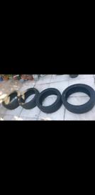 Bridgestone Potenza 285/40/R18 Tyres 4 x Partworn. Approximately 4-5MM