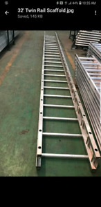 32' and 24' twin rail stages (brand new)