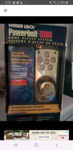 Home access system lock