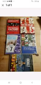 5 x Football DVDs.