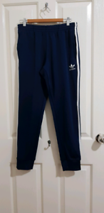 Adidas Navy Blue side stripe joggers (M) Werribee Wyndham Area Preview