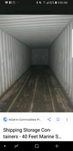 40' storage container for rent oct.1st kelowna