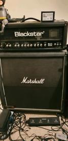 Blackstar series one 50w Head & Marshall 1960A cabinet