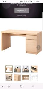Bureau IKEA Malm