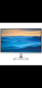 HP monitor 27 inch refurbished no cables