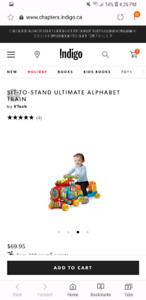 Sit to stand ultimate alphabet train