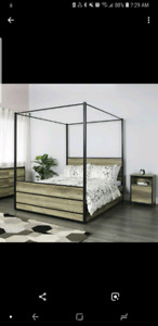 Jysk canopy bed