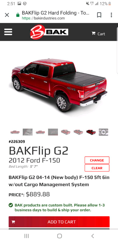 Ford F150 Hard Bed Cover >> Used Ford F150 Hard Tonneau Cover