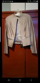 Amanda Wakely silver jacket