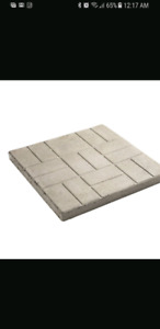 Wanted square patio stones