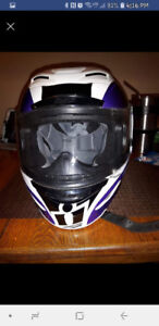 Ladies medium motorcycle helmet