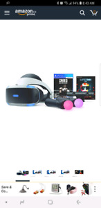 Ps4 VR creed bundle comes with firewall and ps4 stand