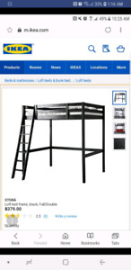 Ikea loft bed Stora model - Reduced more now