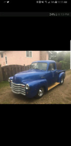 1952 Chevy half ton project for trade