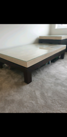 Travertine stone Coffee Table & Side Table