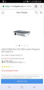 Portable 720p projector - AAXA P300