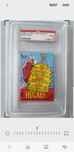 1984/85 OPC WAX PACK GRADED PSA 9 POSSIBLE YZERMAN CHELIOS RC'S