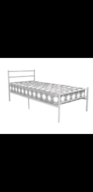 Leanne metal single bed brand new. £100 with matters .