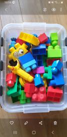 Mega Blocks monster set