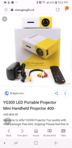LED projector brand new in box